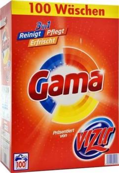 Gama порошок для стирки универсальный 6.5 кг /100 стирок/