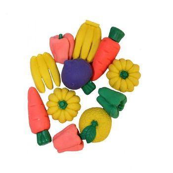 Ластик фрукты ассорти 10 шт