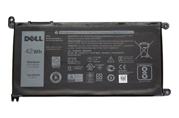 Battery Dell Inspiron 15 5567 5568 13 5368 7368 7569 7579 WDX0R 11.4V 3500mAh Black Original