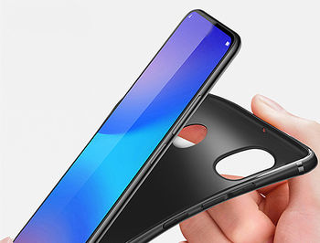 120016 (540010) Husa Screen Geeks Solid Xiaomi Mi A2/6X, Black (чехол накладка в асортименте для смартфонов Xiaomi)