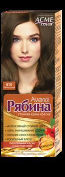 Краска для волос, ACME Рябина Avena, 100 мл., 015 - Темно-русый