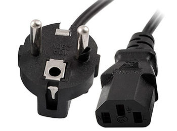 Gembird PC-186-VDE-3M power cord,VDE approval, 3.0m (Кабель питания евростандарт) (cablu alimentare/кабель питания)