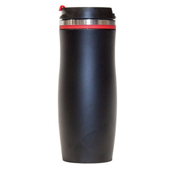 cumpără Cană termos inox – Negru mat (roșu) în Chișinău