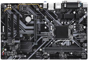 GIGABYTE H310 D3 2.0, Socket 1151, Intel® H310 (9th/8th Gen CPU), Dual 2xDDR4-2666, CPU Intel graphics, VGA, HDMI, 1xPCIe X16, 4xSATA3, 1xM.2 Slot, 3xPCI, 2xPCIe X1, 1xCOM, 1xLPT, ALC887 HDA, GbE LAN, 4xUSB3.1, ATX