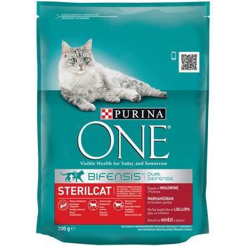 купить Purina ONE Sterilcat (для стерилизованных кошек, c говядиной), 200гр в Кишинёве