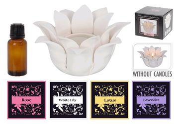 Освежитель воздуха керамич (+1чайн свеча+ароматиз2