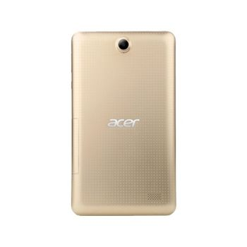 """7.0""""  Acer Iconia B1-723 (NT.LBSEE.002) White Gold, DUALSim, 7.0"""" IPS 1024x600, MTK8321 Quad-Core 1.3GHz, 1GB RAM, 16GB, 3G (Voice Call Support), GPS, 5MPx+2MPx Cam, WiFi-N/BT4.0, MicroUSB (OTG Support), MicroSD, Android 5.1, 3380mAh up to 8hr, 280g"""
