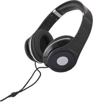 """Esperanza EH141K """"RENELL"""" Black, Stereo audio Headphones with Volume control, 5 m cable lenght"""