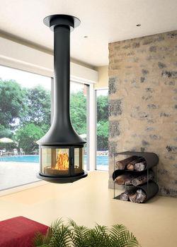 купить Камин - JC BORDELET LEA 998 - центральный со стеклом в Кишинёве