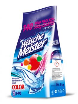 купить Стиральный порошок Wasche Meister Color 10,5 кг, 140 стирок в Кишинёве