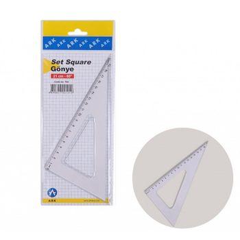 Riglă triunghi 21cm