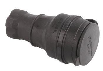 купить Розетка мобильная резиновая с заземлением 16A 250в MUTLUSAN(010083300029) в Кишинёве