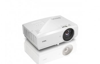 "купить DLP FullHD Projector 4000Lum, 10000:1 BenQ ""MH741"", White Projection System DLP   Native Resolution 1080P (1920x1080)  Brightness* 4000AL  Contrast Ratio 10000:1  Display Color 1.07 Billion Colors  Lens F=2.59~2.87, f=16.88~21.88  Aspect Ratio Native 16:9 (5 aspect ratio selectable)  Throw Ratio 1.15-1.49 (Wide 95"" ±3% @ 2.42m)  Image Size Diagonal 60"" ~ 300""  Zoom Ratio 1.3x  Lamp Type 260W  Keystone Adjustment 2D, Vertical & Horizontal ± 30 degrees;  Auto vertical keystone ± 30 degrees  Lamp Mode (Normal / Economic / SmartEco / LampSave) 2500/3500/4500 hours /No Lamp Save Mode   Projection Offset Vertical: 130% ±5%  Resolution Support VGA(640 x 480) to WUXGA_RB(1920 x 1200)*RB = Reduced blanking  Horizontal Frequency 15K-102KHz   Vertical Scan Rate 23-120Hz  Dimensions(W x H x D) 314.2x116x216.3mm (include feet)  314.2x102x216.3mm (exclude)  HDTV Compatibility 480i, 480p, 576i, 576p, 720p, 1080i, 1080p  Video Compatibility NTSC, PAL, SECAM  On-Screen Display Languages Arabic/Bulgarian/ Croatian/ Czech/ Danish/ Dutch/ English/ Finnish/ French/ German/ Greek/ Hindi/ Hungarian/ Italian/ Indonesian/Japanese/ Korean/ Norwegian/ Polish/ Portuguese/ Romanian/ Russian/ Simplified Chinese/Spanish/ Swedish/ Turkish/ Thai/ TraditionalChinese (28 Languages)   Picture Modes **Dynamic / Presentation / sRGB / Cinema / (3D) / User 1 / User 2  Power Consumption 330 W(Normal), 270 W(Eco), Standby <0.5W  3D Support and Compatibility Frame Sequential: Up to 60Hz 720p  Frame Packing: Up to 24 Hz 1080pSide by Side: Up to 24Hz 1080pTop Bottom: Up to 60Hz 1080p  Weight (Without Packing / With Packing) 3.3 kg  Interface Computer in (D-sub 15pin) x1( integrate with component)  HDMI x2 (HDMI with MHL2.0 x1, HDMI x 1)  MHL x 1(HDMI with MHL2.0)  Monitor out x 1  Composite Video in (RCA) x 1  S-Video in x 1  Audio in (Mini Jack) x 1  Audio in (L/R) x1  Audio out (Mini Jack) x 1  Speaker 10W x 1  USB (Type A) x 1 (1.5A power supply)  RS232 (DB-9pin) x 1  IR Receiver x2 (Front+Rear)   Accessories (Standard): Carry bag,  : Power Cord (by region),  Remote Control w Battery, VGA cable, User Manual CD, QSG, Lens Cover,  : Warranty Card (by region) в Кишинёве"