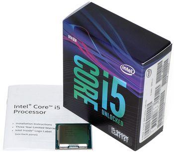 Процессор Intel Core i5-9600KF 3.7-4.6GHz Tray