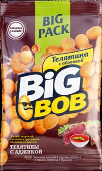 Арахис в оболочке со вкусом телятины и аджики Big Bob (90г)