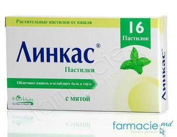 купить Linkus pastile N16 menta в Кишинёве