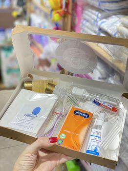купить Набор гигиенических аксессуаров Mamabox Mini в Кишинёве