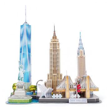 купить CubicFun пазл  3 D City Line New York в Кишинёве