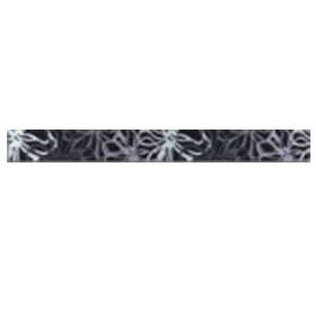 Keros Ceramica Фриз Fly Negro 5x40см