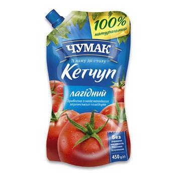 Кетчуп нежный Чумак 450гр