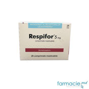 купить Respifor® comp. masticab. 5mg N14x2 в Кишинёве