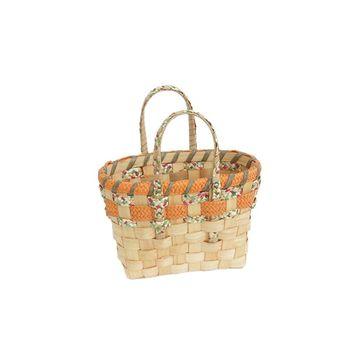 cumpără Coş din așchii de lemn cu mânere din carton 330x190x220 mm în Chișinău