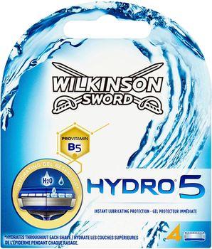 купить Сменные лезвия Wilkinson Sword Hydro5, 4 шт. в Кишинёве