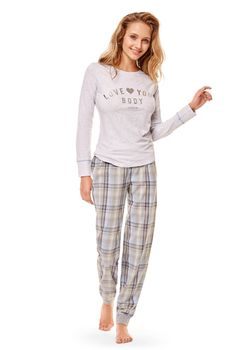 купить Пижама женская ESOTIQ Cozy 36249-09x в Кишинёве