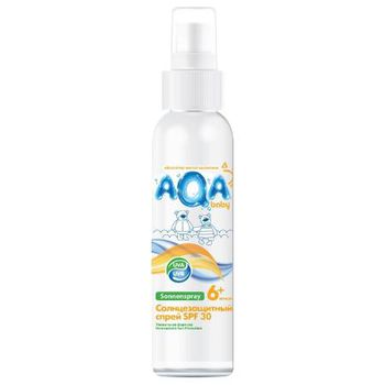 купить AQA Baby Солнцезащитный спрей SPF 30  (80,28) в Кишинёве