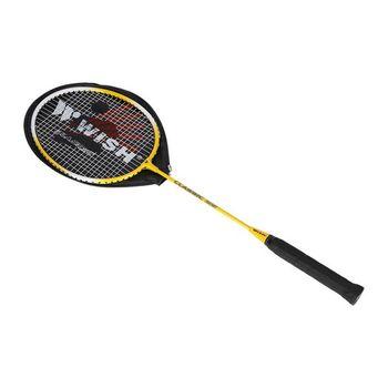Ракетка для бадминтона + чехол 3/4 Wish 215 yellow (3529)