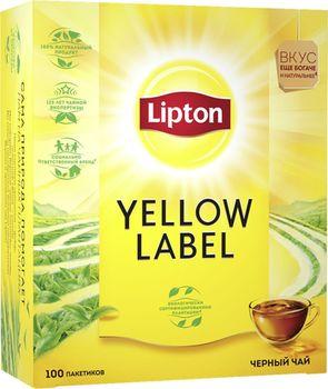 купить Lipton Yellow Label, 100 пак. в Кишинёве