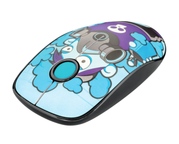 Wireless Mouse Trust Sketch Silent, Blue