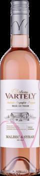 Вино Малбек и  Сира Château Vartely IGP, розовое сухое,  0.75 L