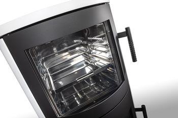 купить Каминная печь с духовкой ROMOTOP LUGO N 03 BF (сталь) в Кишинёве