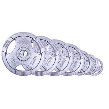 Диск металлический 25 кг d=50 мм inSPORTline 12707 (2738) (под заказ)