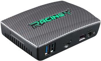 """Mini PC  Biostar RACING P1 (Intel® Quad Core x5-Z8350, 1.44-1.92GHz, 4GB DDR3L, 64GB eMMC Flash, 1x2.5"""" SATA, Intel HD Graphics, 5xUSB 2.0, 1xUSB 3.0, 1xGbE LAN, WiFi(802.11ac) /BT4.0, HDMI, MicroSD Card reader, 1x 5V 5050 LED Header)"""
