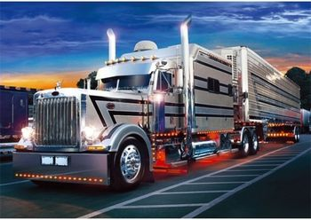 """37121 Puzzles - """"500"""" - Silver Truck"""