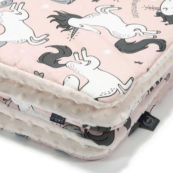 купить Одеялко LaMillou Unicorn Sugar Bebe – Ecru (100x80 cm) в Кишинёве