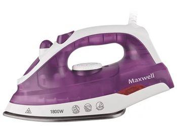 Утюг Maxwell MW-3042, White/Violet