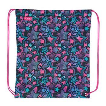 """Школьный рюкзак """"Stars"""" Herlitz I розовый"""