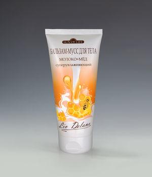 купить Бальзам-мусс для тела «Молоко+мед», суперувлажняющий   Sun of life в Кишинёве