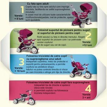 купить Coccolle трехколесный велосипед Modi в Кишинёве