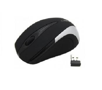 Mouse Esperanza EM101S, Wireless Optical, 2.4GHz, Nano Reciver, USB, Black/Silver