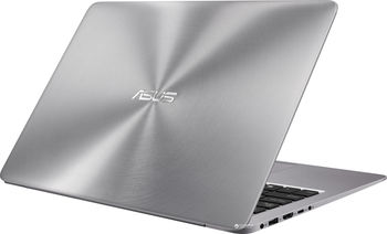 "купить ""NB ASUS 13.3"""" Zenbook UX310UA Grey (Core i3-7100U 4Gb 128Gb+500Gb Win 10) 13.3"""" Full HD (1920x1080) Non-glare, Intel Core i3-7100U (2x Core, 2.4GHz, 3Mb), 4Gb (OnBoard) PC4-17000, 128Gb SATA + 500Gb 5400rpm, Intel HD Graphics, HDMI, 802.11ac, Bluetooth, 1x USB 3.1 Type C, 1x USB 3.0, 2x USB 2.0, Card Reader, HD Webcam, Windows 10 Home RU, 3-cell 48 WHrs Polymer Battery, Illuminated Keyboard, 1.4kg, Quartz Grey"" в Кишинёве"