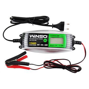 Incarcator acumulator WINSO 2/4A, 1.2-120AH 230W 139700