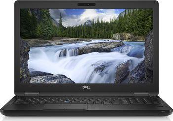 DELL Latitude 5590 BIack, 15.6'' FullHD +W10Pro (lntel® Core™ i5-8250U up to 3.4GHz, 8GB DDR4 RAM, 256GB SSD, Intel® UHD620 Graphics, no ODD, CR, WiFi-AC, BT4.0, HDMl, VGA, USB-C, 3cell, HD Webcam, BackIit KB, W10Pro, 1.88 kg)