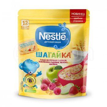 cumpără Nestle terci Pas multicereale cu lapte căpșună, zmeură și măr, 220 gr în Chișinău