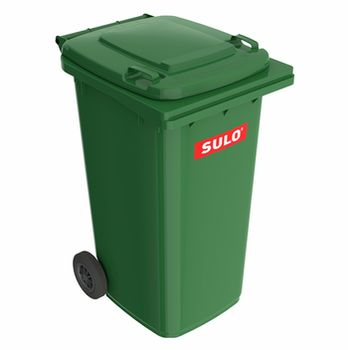 240L, Двухколёсный контейнер SULO MGB, Зеленый