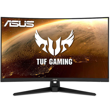 "Монитор 31.5"" ASUS TUF Gaming VG328H1B Curved 1500R Gaming Monitor WIDE 16:9, 0.363, 1ms, 165Hz, FreeSync Premium, Asus Aura RGB, Contrast 3000:1, Speakers 2x2W, 24 ~180 KHz (H) /50 ~165 Hz, Full HD 1920x1080, 2xHDMI v.2.0 (monitor/Монитор)"