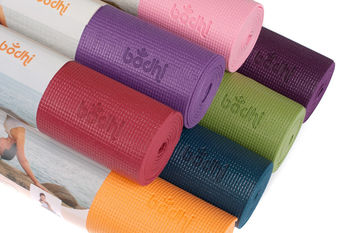 Коврик для йоги Bodhi Yoga Mat Asana Burgundy -4.5мм